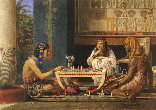埃及人发明了一套记数法,不过这...