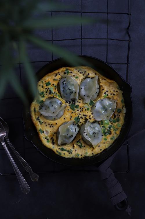 ♥️ 今日份早餐:抱蛋煎饺 新...