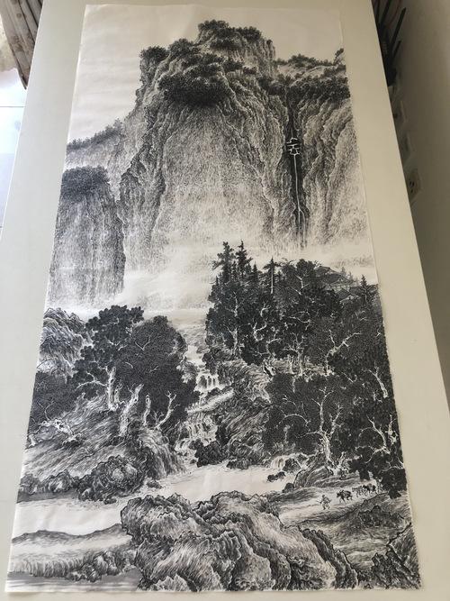 第一宋画 范宽先生的《溪山行旅...