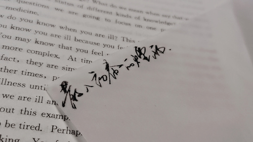 诗人大多写意