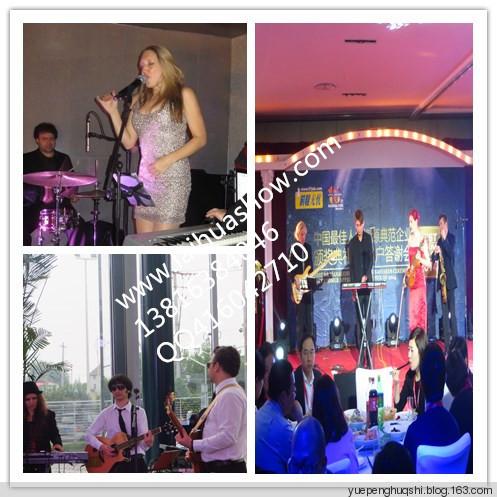 上海外籍乐队展示 - 乐棚画室 - 上海来华秀外籍表演